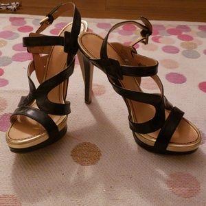 Strappy Nine West Heels